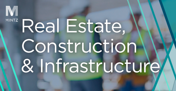 Real Estate, Construction, and Infrastructure Viewpoint Thumbnail