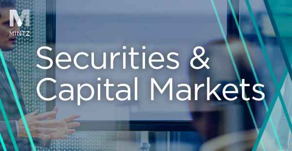 Securities and Capital Markets Viewpoint Thumbnail