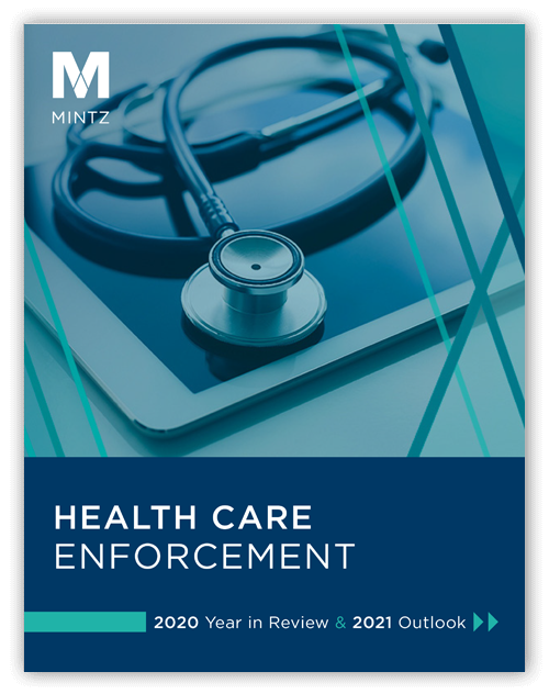 Health Care Enforcement Report Graphic