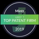 Juristat Top Patent Firm 2019 Award