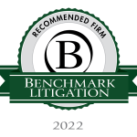 Benchmark Litigation Recommended Firm 2022