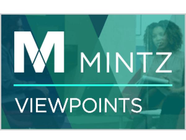 Privacy & Cybersecurity   Mintz