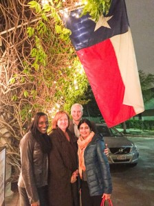 Attorneys Dionne Lomax, Heidi Lawson, Paul Dickerson, and Narges Kakalia in Houston.